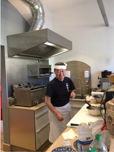 Miyagi Restaurant - der Koch