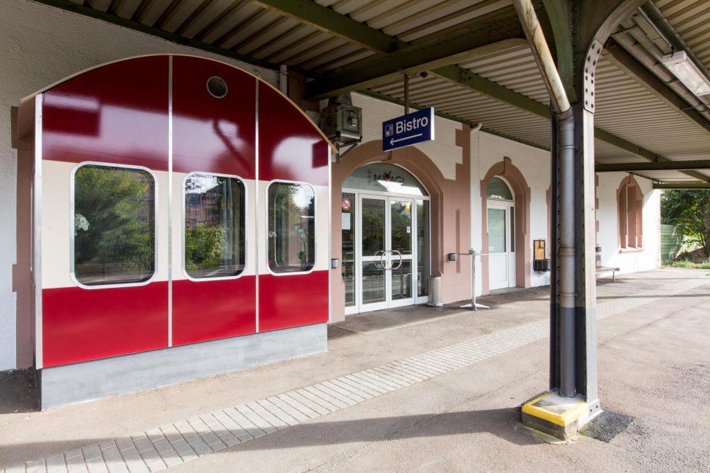 Miyagi Restaurant im Bahnhof Walluf